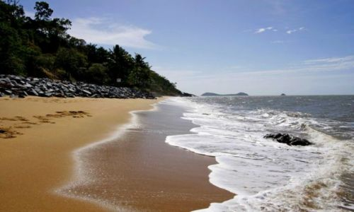 AUSTRALIA / Queensland / Trinity Beach / Plaze Polnocnego Queensland