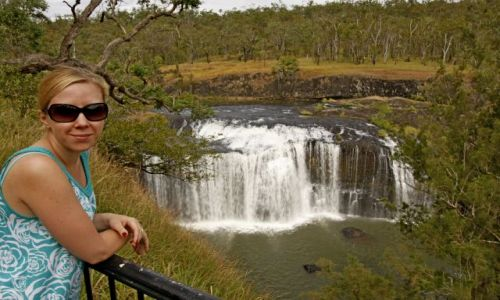 AUSTRALIA / Queensland / Atherton Tablelands / Wodospad Millstream
