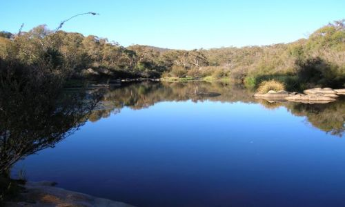 Zdjecie AUSTRALIA / NSW / kolo miasteczka Adaminabi / Murrumbidgi River