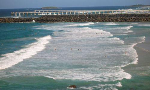 Zdjecie AUSTRALIA / Queensland / Gold Coast--Coolangata / Fale na Zlotym Wybrzezu--Gold Coast
