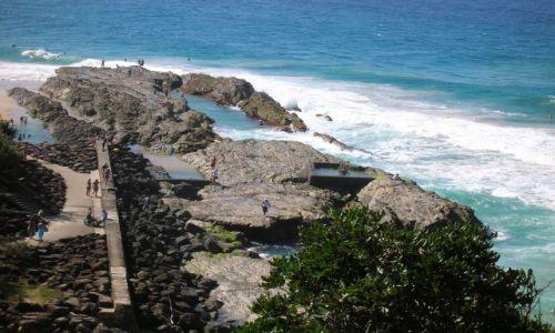 Zdjecie AUSTRALIA / Qld,  / Gold Coast / Widok na ocean -Pacific