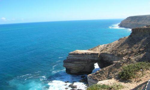 Zdjecie AUSTRALIA / W.A. / Kalbarii / Klify nad oceanem