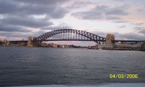 Zdjęcie AUSTRALIA / Sydney / nad oceanem / Harbour bridge