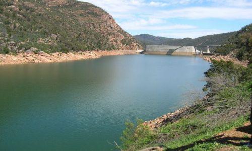 Zdjęcie AUSTRALIA / NSW / jezioro  / Burranjack dam-Tama