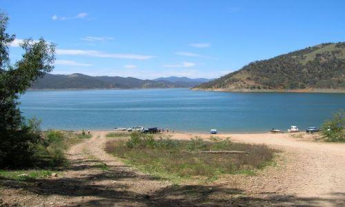 Zdjęcie AUSTRALIA / NSW / nad jeziorem / Piknik obok Tamy-Burranjack Dam