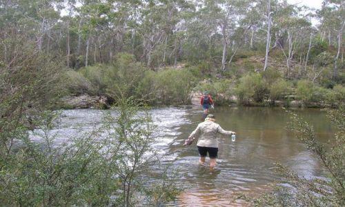 Zdjecie AUSTRALIA / NSW / Okolice Captainn Flat / Przeprawa przez rzeke