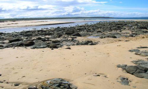 Zdjecie AUSTRALIA / NSW,  nad oceanem / Kongo, 200 km od Canberry na poludnie / Rozlegle plaze