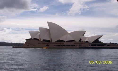 Zdjecie AUSTRALIA / Sydney / centrum / Opera w Sydnay