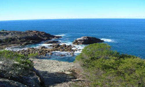 Zdjęcie AUSTRALIA / NSW / okolice Naroomy / Nad Pacifikiem