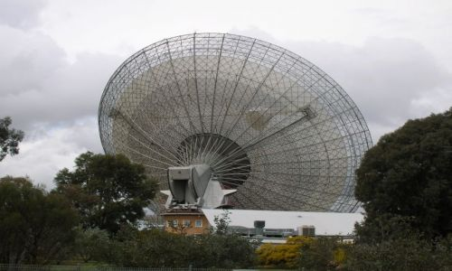Zdjęcie AUSTRALIA / NSW / Parkes, miasto w interia / Radio-teleskop w Parkes