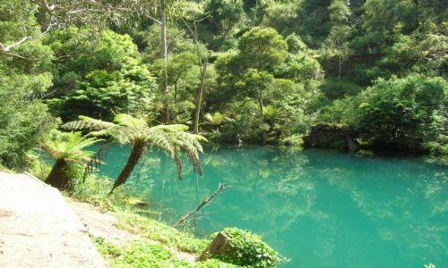 Zdjecie AUSTRALIA / NSW / Jenolan Caves / Niebieskie jeziorko