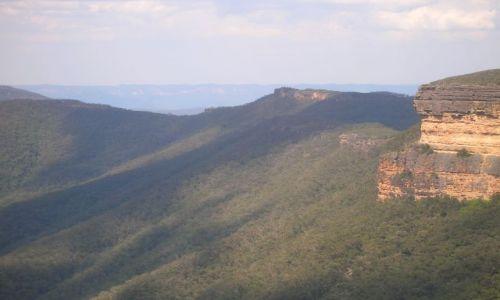 Zdjęcie AUSTRALIA / Blue Mountains / Kanangra Rocks / Niebieskie gory