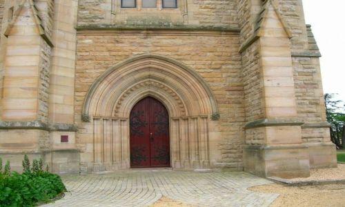 Zdjecie AUSTRALIA / NSW / Goulburn / Brama kosciola anglikanskiego