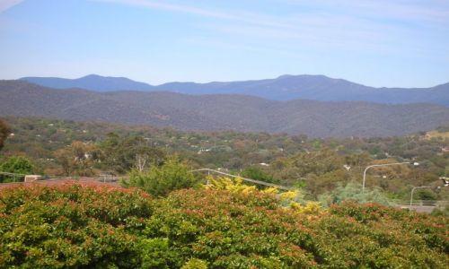 Zdjęcie AUSTRALIA / ACT / Canberra / Widok na Tidbinbille