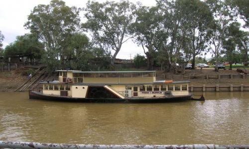 Zdjecie AUSTRALIA / Vic. i NSW / Echuca / Statek parowy na Murray river