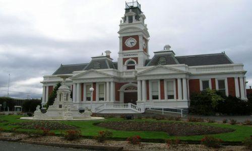 Zdjecie AUSTRALIA / Victoria / Ararat / Town hall w Ararat