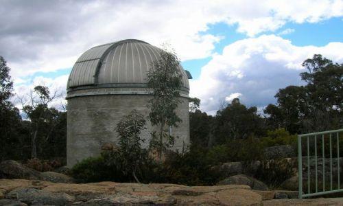 Zdjecie AUSTRALIA / ACT / Namadgi national park / Zaytkowe obserwatorium astronomiczne..