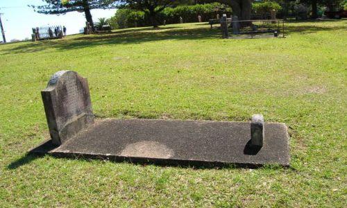 Zdjecie AUSTRALIA / NSW / Port Macquarie / historyczny cmentarz z 1850 r.