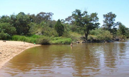 Zdjecie AUSTRALIA / ACT / Canberra / Nad rzeka Murrumbigi..