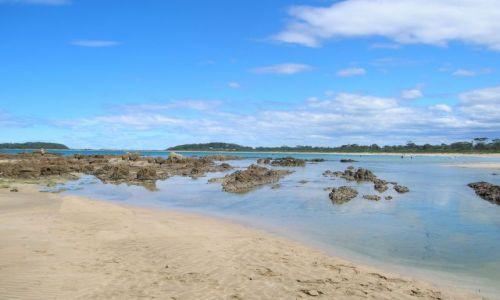 Zdjecie AUSTRALIA / NSW / Zatoka nad pacyfikiem / Broulee