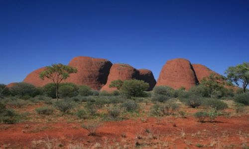 Zdjecie AUSTRALIA / Northern Territory / Kata Tjuta National Park / Kata Tjuta Nati