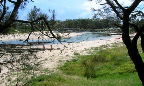 Zdjecie AUSTRALIA / NSW / Broulee / Nad oceanem..