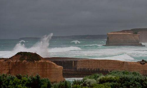 Zdjecie AUSTRALIA / Victoria / Port Campbell National Park / sztorm