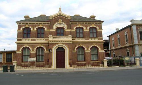 Zdjęcie AUSTRALIA / Central NSW / Mudgee / Zabytkowy budynek..