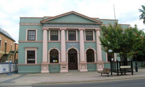 Zdjęcie AUSTRALIA / Central NSW / Mudgee / Zabytkowy budynek-1820 r.