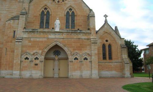 Zdjęcie AUSTRALIA / Central NSW / Mudgee / Zabytkowy kosciol..
