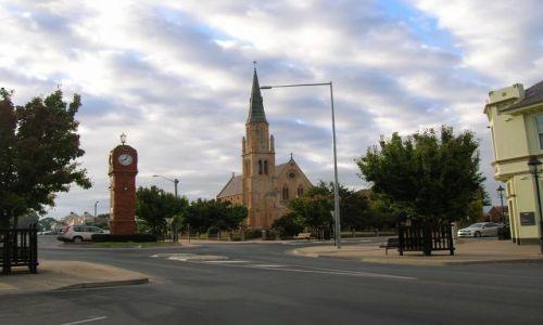 Zdjęcie AUSTRALIA / Central Nsw / Mudgee / Zegar w Mudgee..