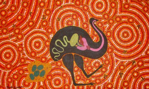 Zdjecie AUSTRALIA / Kalgoorlie / muzeum / Sztuka aborygeńska