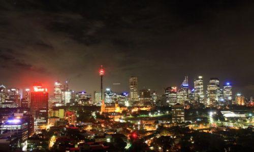 AUSTRALIA / Nowa Południowa Walia / Sydney / Sydney by night