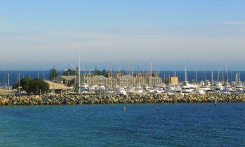 Zdjęcie AUSTRALIA / Fremantle / nadbrzeże / Marina
