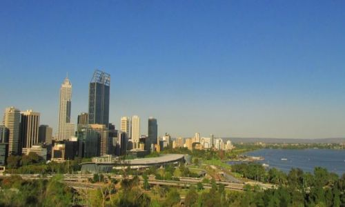 Zdjęcie AUSTRALIA / WA / Perth / widok na miasto