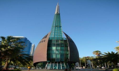 Zdjęcie AUSTRALIA / Perth / nadbrzeże / wieża dzwonków