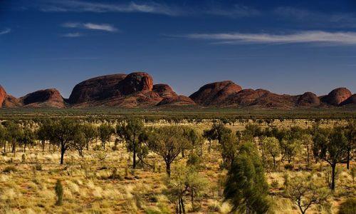 AUSTRALIA / Northern Territory / Mt Olgas / Katatjuta