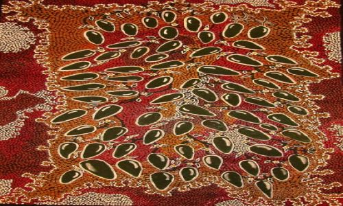 Zdjecie AUSTRALIA / Kalgoorlie / muzeum / sztuka aborygeńska 5