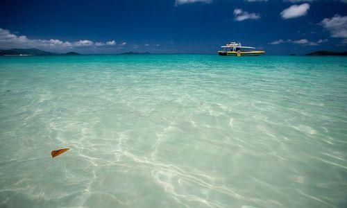 Zdjecie AUSTRALIA / Queensland / Whitehaven Beach / nabielsza plaza swiata