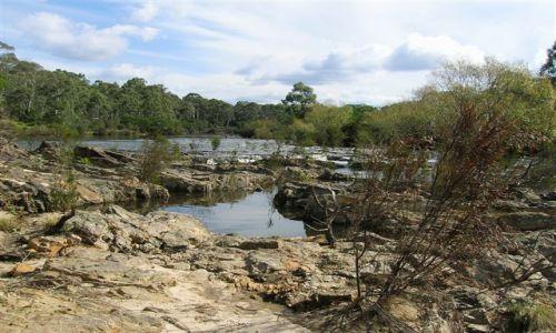Zdjecie AUSTRALIA / Wsch. Australia / okolice Nerriga / Rzeka Shoalhaven