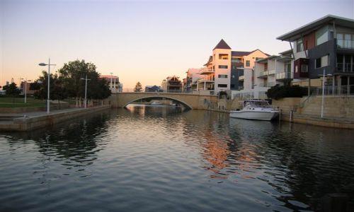Zdjęcie AUSTRALIA / Zach.Australia / Mandurah marina / Venecian canals
