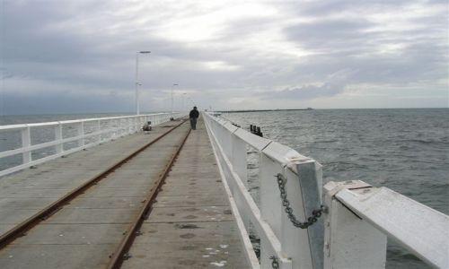 Zdjecie AUSTRALIA / WA / Busselton / Busselton Jetty-2km molo