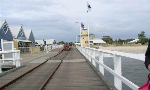 Zdjecie AUSTRALIA / WA / Busselton / Molo w Busselton