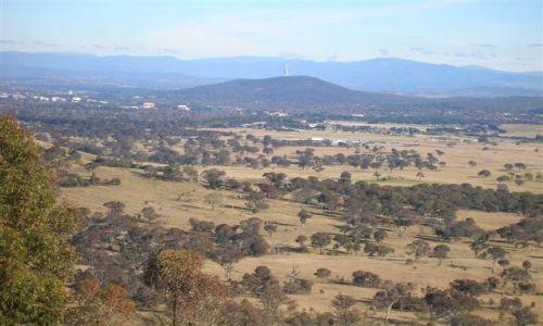 Zdjęcie AUSTRALIA / ACT / Rezerwat / Panorama ze szczytu