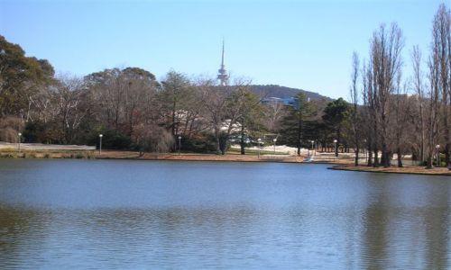 Zdjecie AUSTRALIA / ACT / Canberra / Commenwealth Park