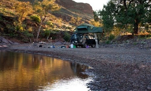 Zdjecie AUSTRALIA / Pustynia Strzeleckiego / Chambers Gorge  / Biwak na pustyni