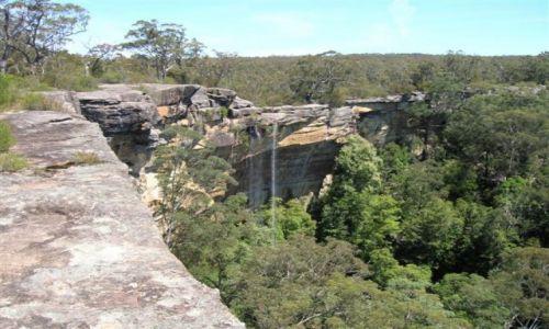 Zdjecie AUSTRALIA / NSW / Morton Nat. Park / Wodospad