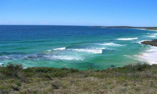 Zdjecie AUSTRALIA / NSW / South Coast / Niebieskie wody oceanu