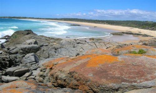 Zdjecie AUSTRALIA / NSW / South Coast / Widok na Pacific