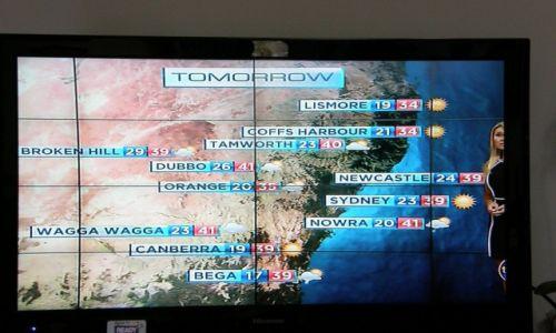 Zdjecie AUSTRALIA / Sydney / Sydney / Prognoza pogody na dzien 18 stycznia 2013 - okolice Sydney